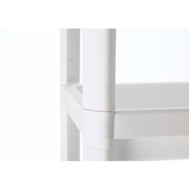 Tessa 4 Tier Storage - White - 2