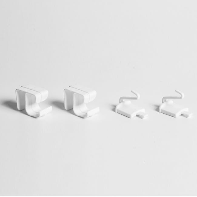 Tessa 4 Tier Storage - White - 4