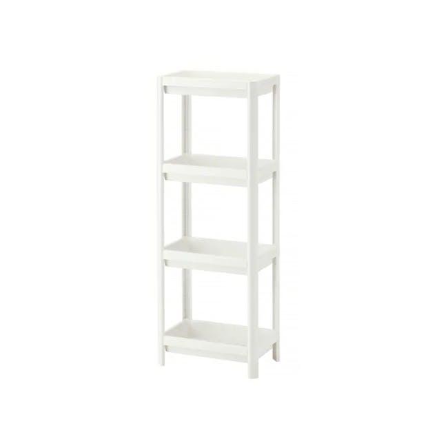 Tessa 4 Tier Storage - White - 0