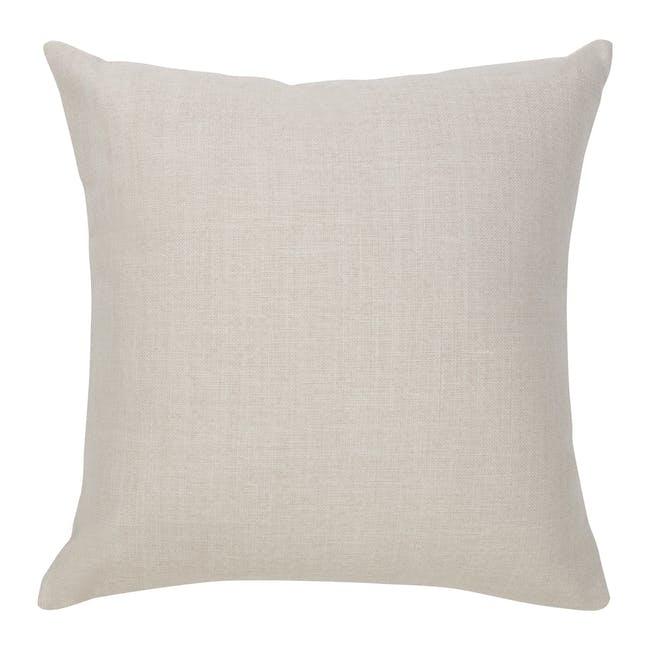 Throw Cushion Cover - Light Grey - 3