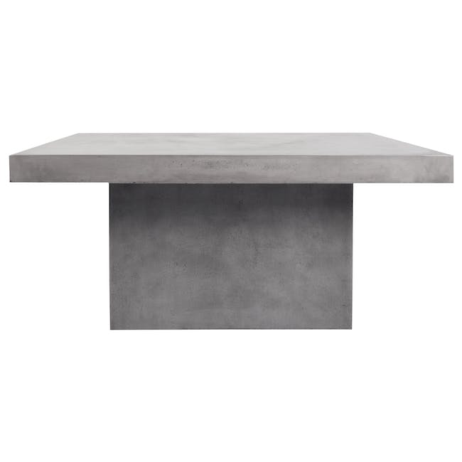 Ryland Concrete Dining Table 1.6m and 4 Starck Dining Chairs - 2