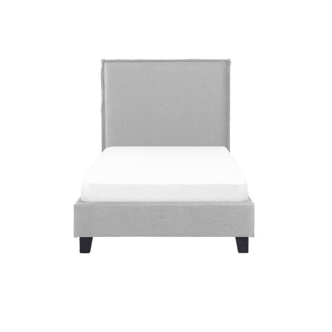 Hank Single Bed - Silver Fox - 0