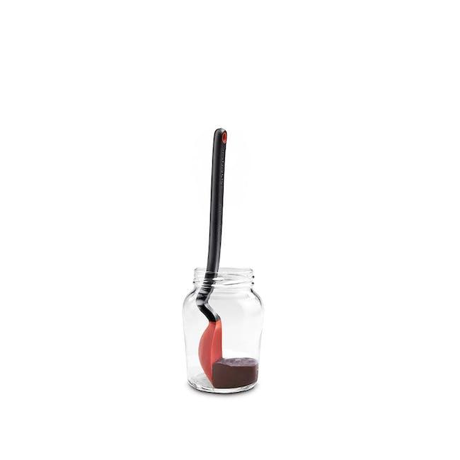 Dreamfarm Mini Supoon Sit-Up Scraping Spoon - Red - 0