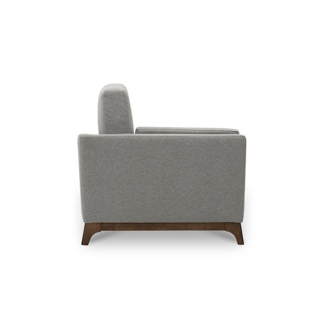 Elijah 2 Seater Sofa - Dolphin Grey (Fabric) - 3