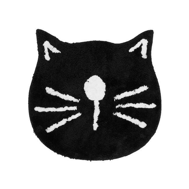 Noje Floor Mat - Black Kitty - 0