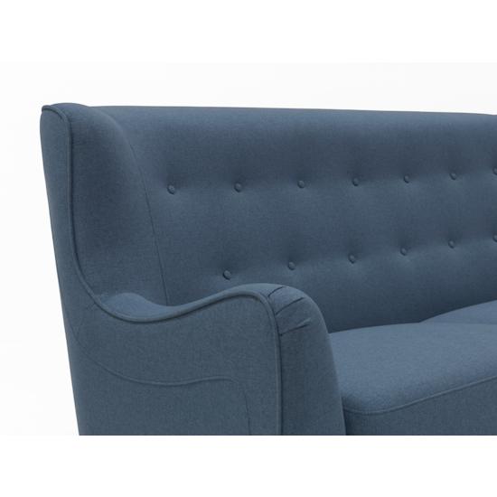 Liyasi - Jacob 3 Seater Sofa - Denim