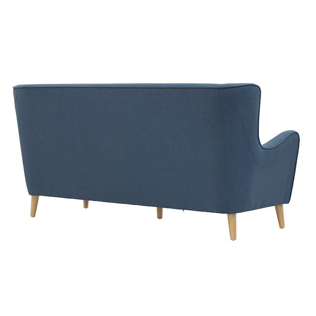 Jacob 3 Seater Sofa - Denim - 4