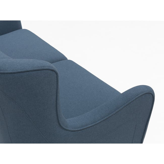 Jacob 3 Seater Sofa - Denim - 6