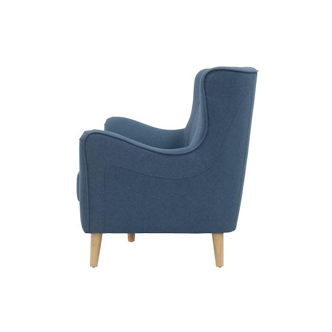 Jacob 3 Seater Sofa - Denim - 3