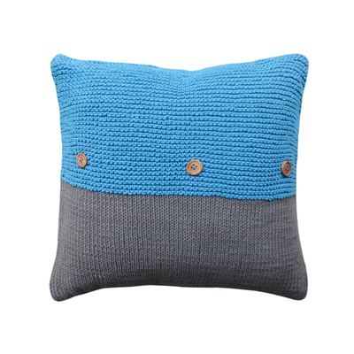 Keira Cushion - Blue - Image 2