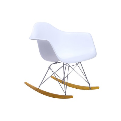 RAR Rocker Chair - White - Image 1