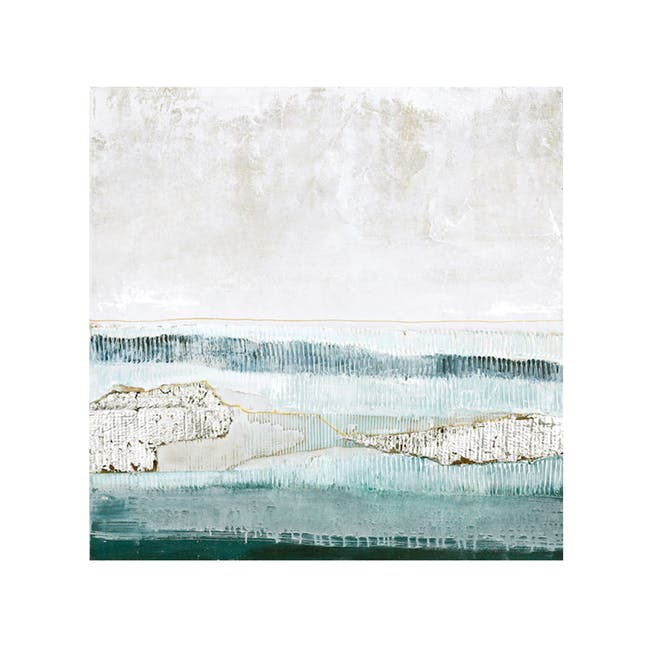 Abstract Oil Painting 100cm by 100cm - Seascape - 0