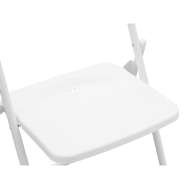 Nixon Folding Chair - White - 5