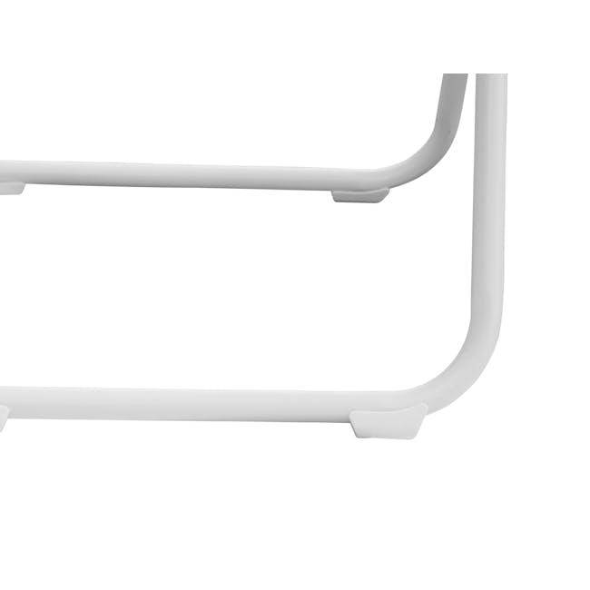 Nixon Folding Chair - White - 6