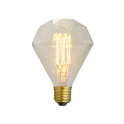 Edison Z110 Squirrel Diamond Filament Bulb - Image 1