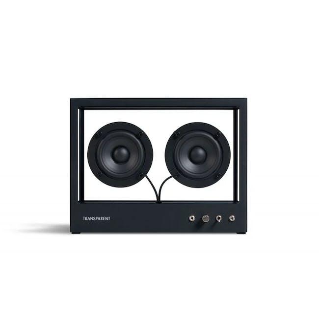 Small Transparent Speaker - Black - 0