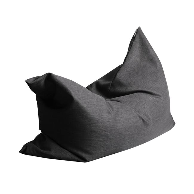 Vesuvius Bean Bag - Basalt (2 Sizes) - 0