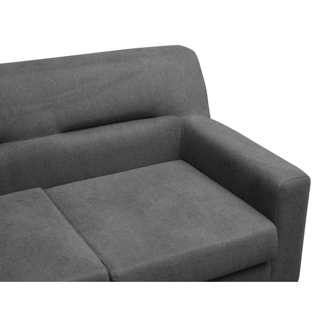 Damien 2 Seater Sofa - Onyx Grey - 5