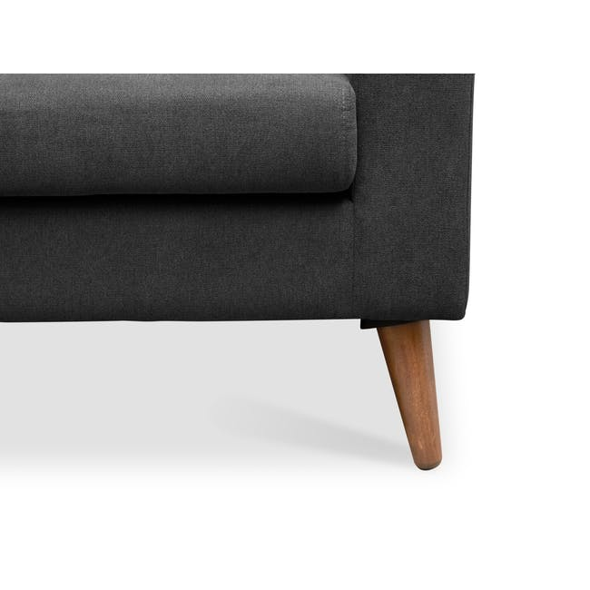 Damien 2 Seater Sofa - Onyx Grey - 6