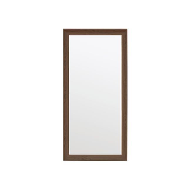 Scarlett Full-Length Mirror 70 x 170 cm - Walnut - 0