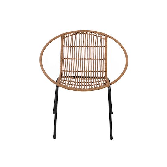 HipVan Bundles - Cody Rattan Lounge Chairs with Cody Rattan Side Table