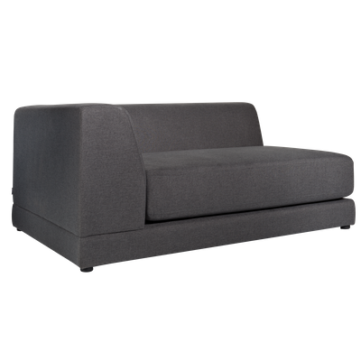 Abby Left Arm Chaise Sofa - Granite - Image 2