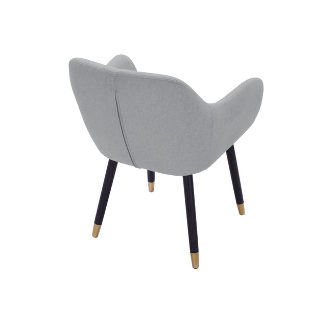 Aubree Dining Armchair - Grey Goose (Fabric) - 4
