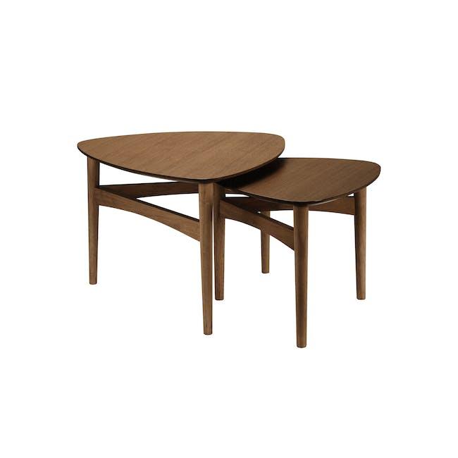 Poet Occasional Table Set - Walnut - 1