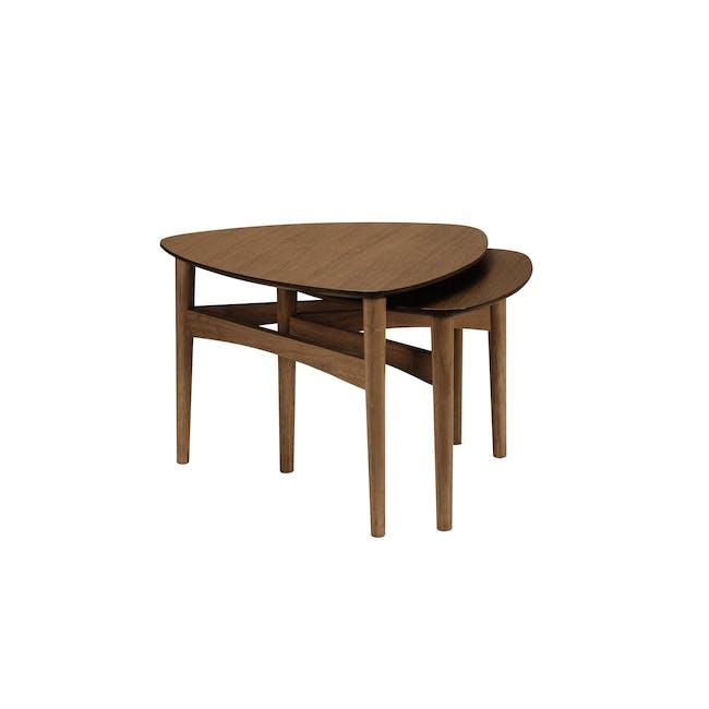 Poet Occasional Table Set - Walnut - 2