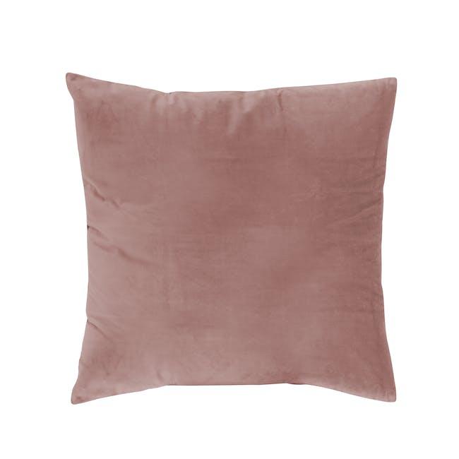 Tammy Large Velvet Cushion Cover - Peach - 0