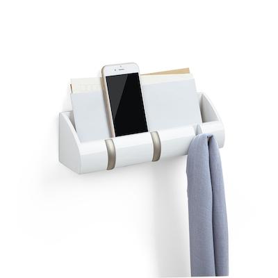 Cubby Mini Key Hook & Organiser - White - Image 1