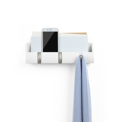 Cubby Mini Key Hook & Organiser - White - Image 2
