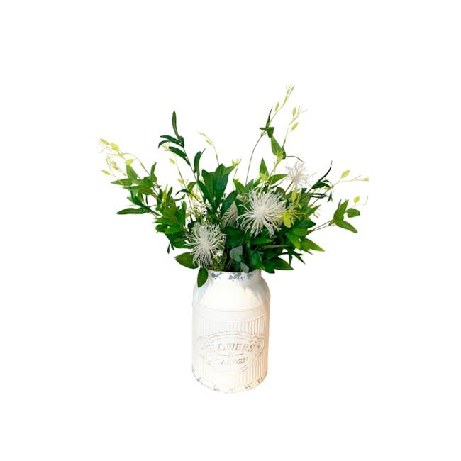 Large Vintage Floral Can - Design 3 - 0