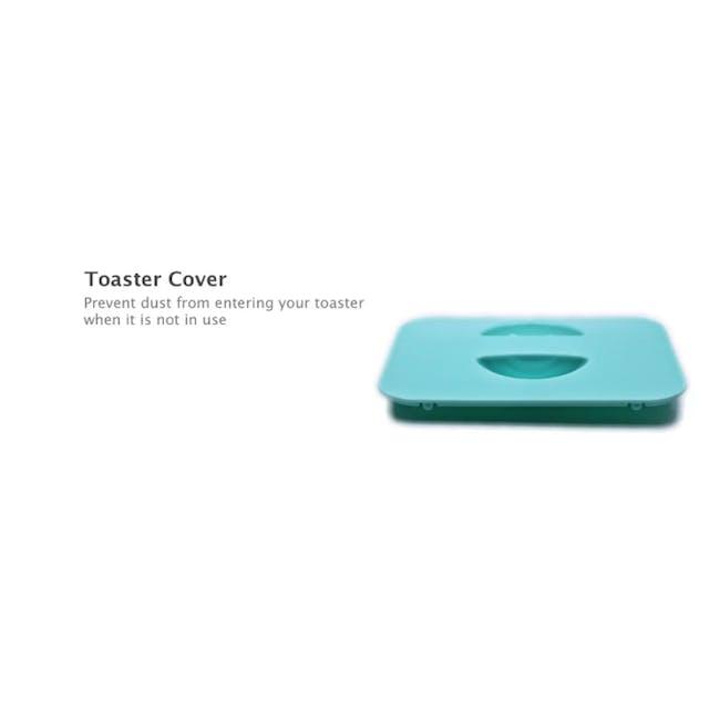 Odette Pastel 2-Slice Bread Toaster - Mint - 4