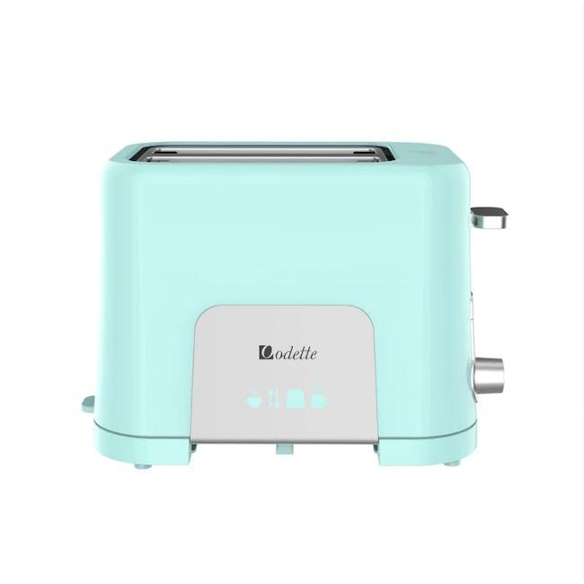 Odette Pastel 2-Slice Bread Toaster - Mint - 1