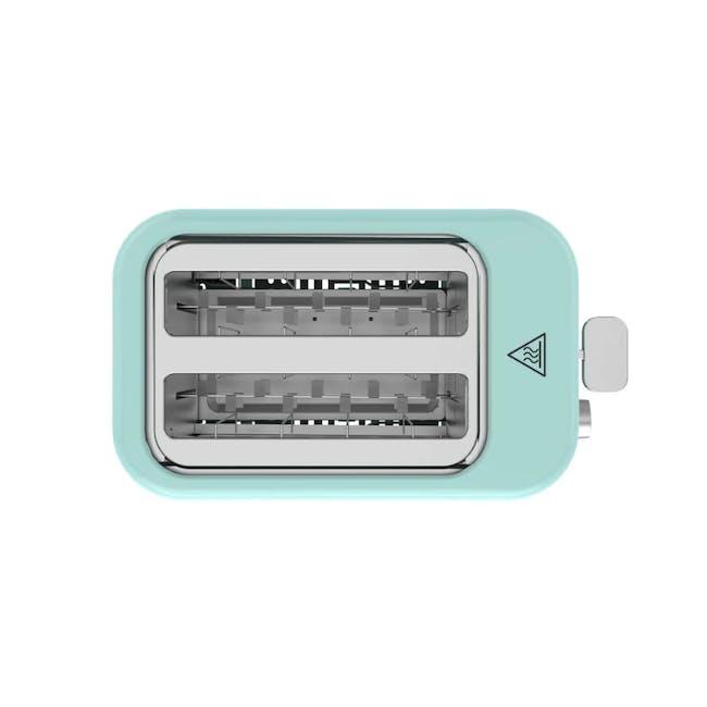 Odette Pastel 2-Slice Bread Toaster - Mint - 2