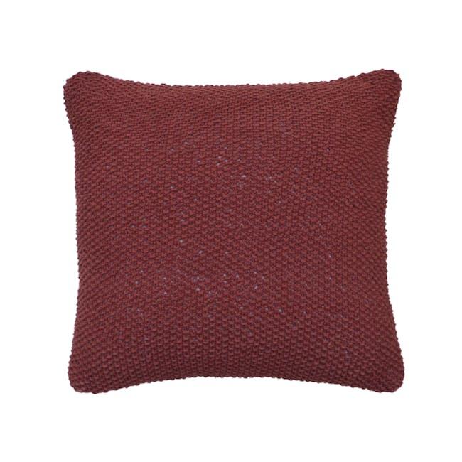 Maci Cushion - Maroon - 0