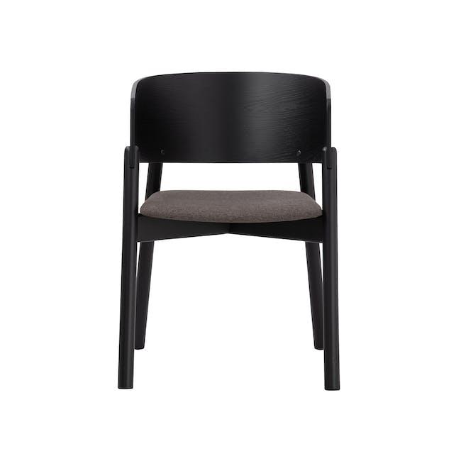 Copen Dining Armchair - Black, Chestnut - 3