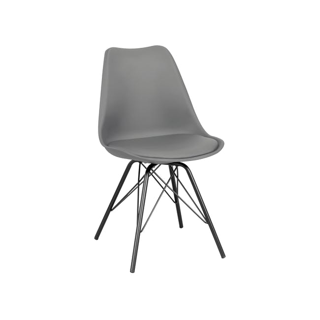 Axel Chair - Black, Grey - 4