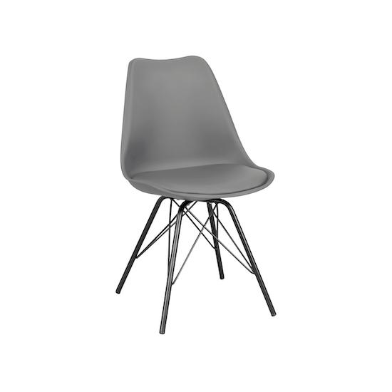 Lichang - Axel Chair - Black, Grey