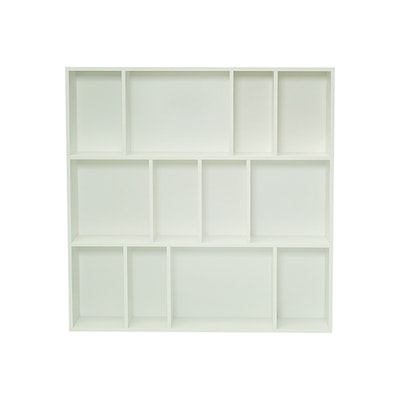 Austin Square Rack - White - Image 1