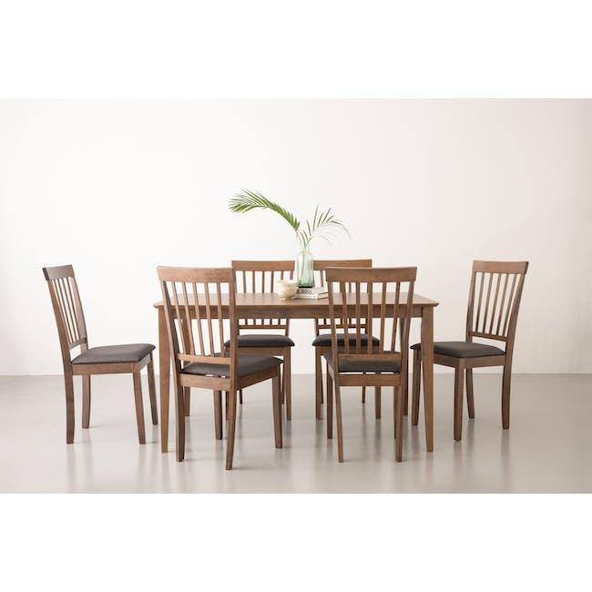 Charmant Dining Table 1.4m - Walnut - 3