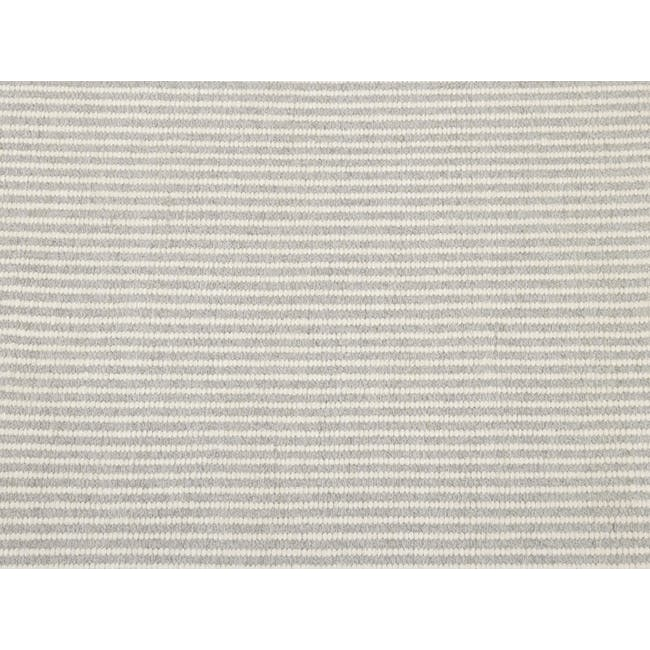 Vector Flatwoven Rug 3m by 2m - Silver - 1