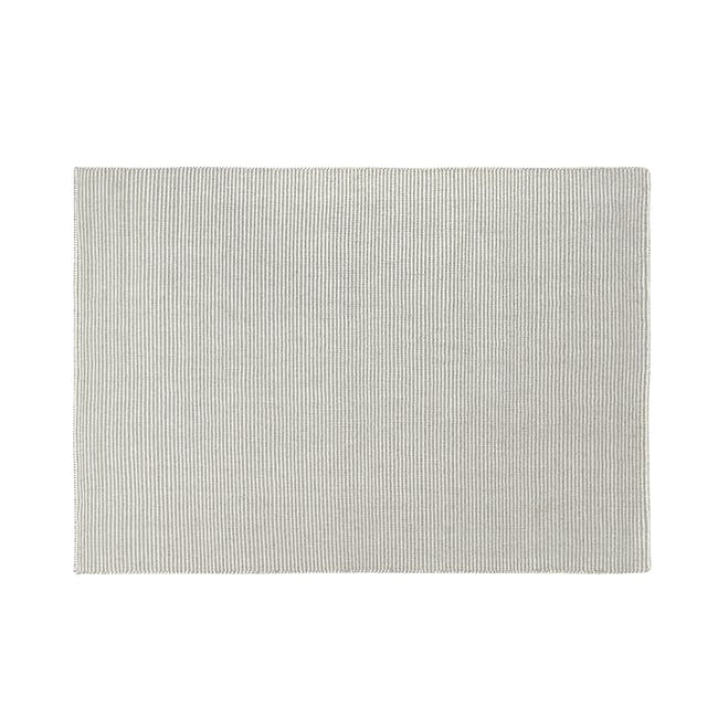 Vector Flatwoven Rug 3m by 2m - Silver - 0