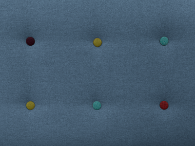Arden3 Seater Sofa - Blue - Image 2