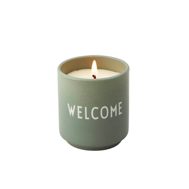 Scented Candle - Green (Welcome) - 0