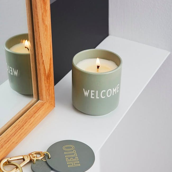 Scented Candle - Green (Welcome) - 1