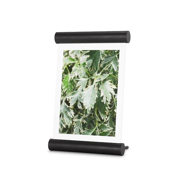 Scroll Photo Display 5 x 7 - Black - 0