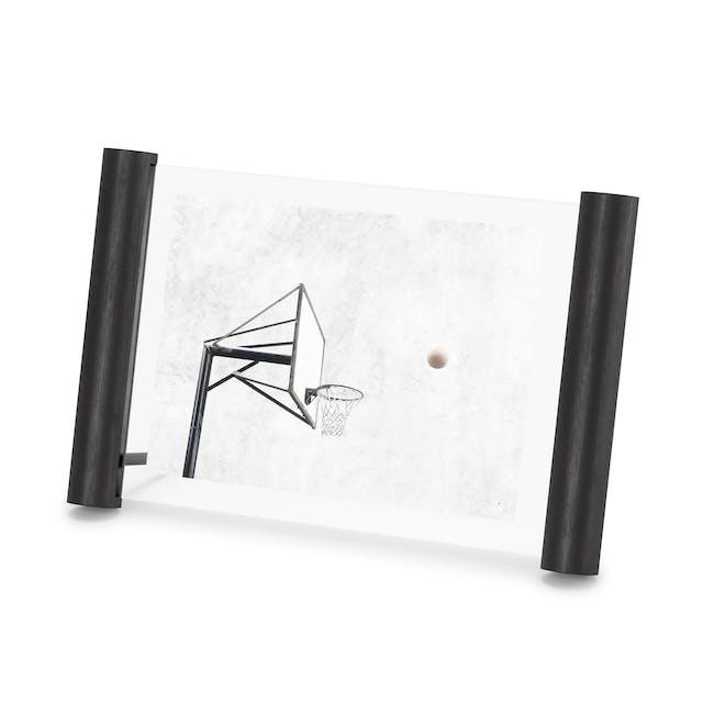 Scroll Photo Display 5 x 7 - Black - 1