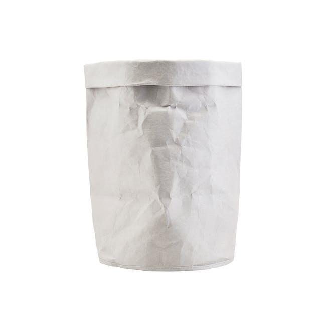 Craft Paper Bin - Grey - 0